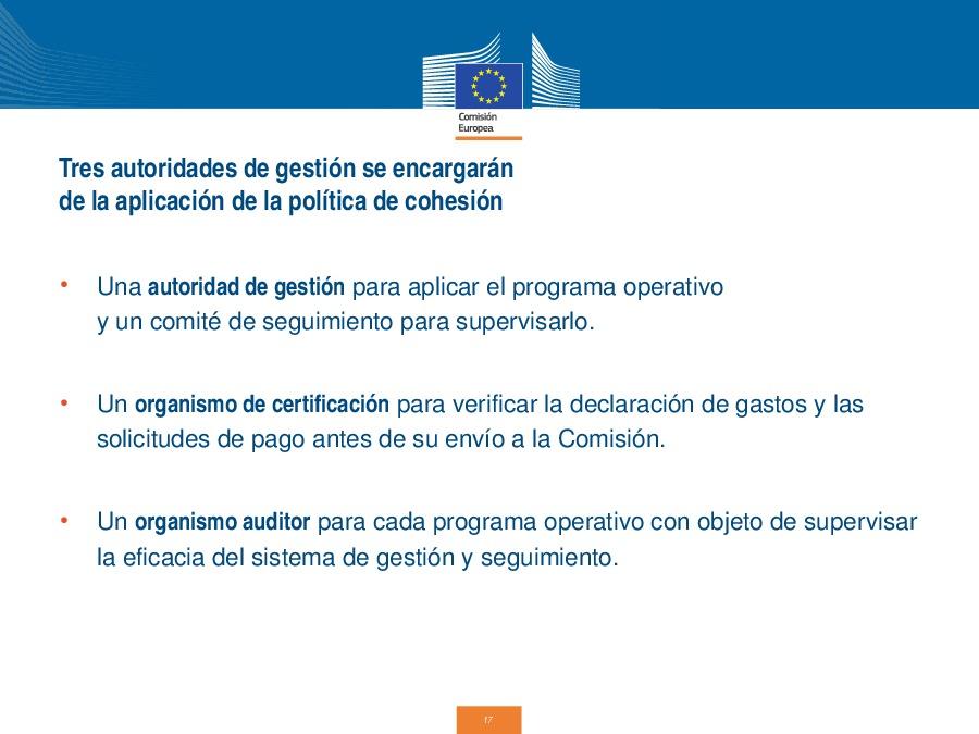 Inauguración do curso monográfico Os novos fondos europeos e a súa execución en España